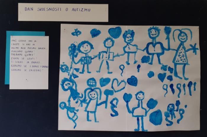 Svjetski dan svjesnosti o autizmu – aktivnosti u Vrtiću