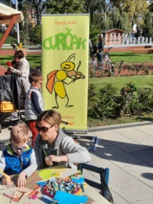 Na manifestaciji Jesen u Gradu 2021. predstavio se virovitički CVRČAK